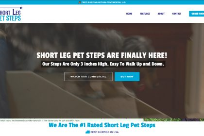 ShortLegPetSteps.com